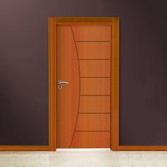 Wooden Front Door Design, Door Gate Design, Bedroom Door Design, Door Design Interior, Wooden Front Doors, Home Room Design, Modern Wooden Doors, 3 D, House
