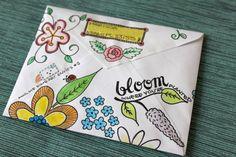 Napisz list do siebie - Rozwojownik | #Ania maluje