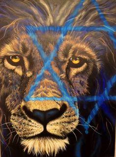 Lion of judah, prophetic art