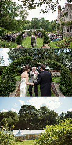 An Elegant English Garden Wedding | Whimsical Wonderland Weddings