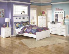 Lulu 5pc Kids Full Bedroom Set