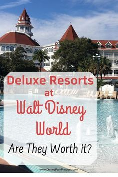 Jun 22, 2020 - In the continuation of our 'Worth it' series, we focus on the Deluxe Resorts at Walt Disney World. Are these luxury resorts worth it for their price?