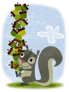 squirrel by michael robertson