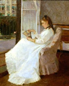 Berthe Morisot, Jeune fille à sa fenêtre (1869)