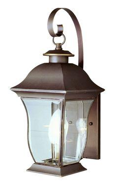 "Trans Globe Lighting 4970 WB 18"" high Outdoor Wall Coach Light"