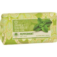 Desert Essence Bar Soap - Peppermint - 5 Oz