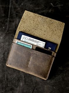 Bas and Lokes Leather Goods - Wallet