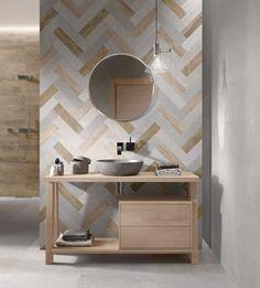 Flaviker torna a parlare di ambiente bagno grazie a W&P (Wall&Porcelain) il materiale ceramico che cambia le regole del rivestimento indoor.