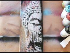 Buddha Board - YouTube Lotus Tattoo, Tattoo Ink, Arm Tattoos, Sleeve Tattoos, Collage, Painted Boards, Buddhist Art, Geometric Tattoos, Buddha