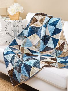 Easy Quilt Patterns Broken Crackers Quilt Pattern