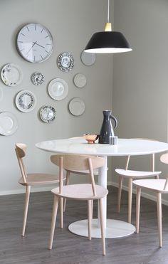 hunajaista asuntomessut iittala arabia lautaset seinalla keittio 2014