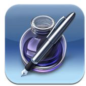 7 Great iPad Writing apps (This one is Pages) there are 7 more writing apps on this resource.