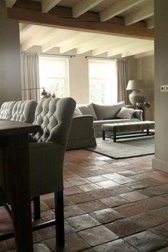 terracotta floor