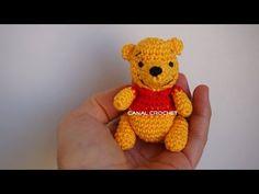CANAL CROCHET: winnie de pooh amigurumi tutorial
