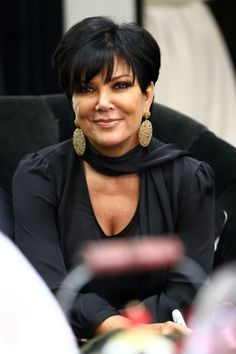Kris Jenner - Love her look...not her mothering style.