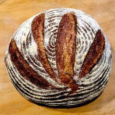 A traditional European style whole grain sourdough – delicious