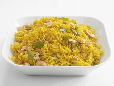 Curried Rice Pilaf recipe from Food Network Magazine via Food Network