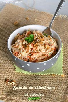 Salade de céleri rave et carotte aux noix | Tomate sans graines | Bloglovin'