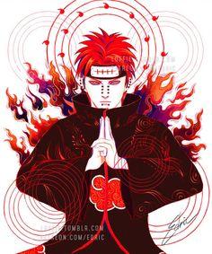 Deva Pein Naruto Sketch by luffie on DeviantArt Naruto Vs Sasuke, Naruto Shippuden Sasuke, Anime Naruto, Yahiko Naruto, Wallpaper Naruto Shippuden, Naruto Wallpaper, Naruto Art, Itachi Uchiha, Boruto