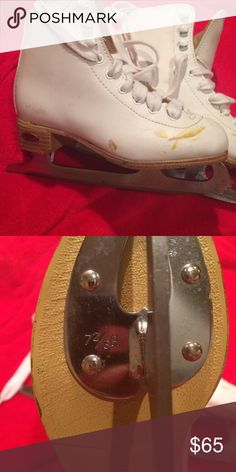 Riedell figure skates Sz 13j Some scuffs and are slightly used Riedell Shoes