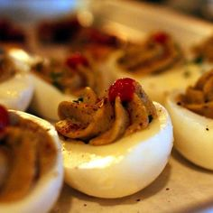 More food from Barcade in Jersey City: some of the most delicious deviled eggs!