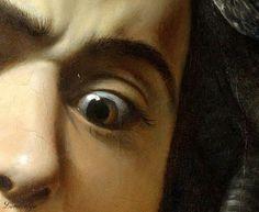 """fleurduart: """" Caravaggio, particolare da Medusa """""""