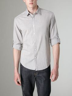 Hale Chambray Shirt by Hyden Yoo on Gilt