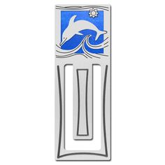Dolphin Bookmark - Engraved | Kyle Design