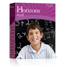 Cayden - Since he'll be done Elementary Life of Fred this summer, I might go back to Horizons