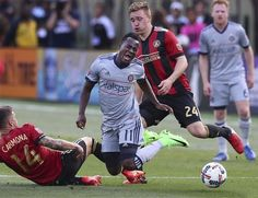 AP                  Published 6:19 p.m. ET March 19, 2017   Updated 11 hours ago        Chicago Fire forward David Accam turns the ball over on a double-team by Atlanta United defenders Carlos Carmona, left, and Julian Gressel during the second half of an MLS soccer match Saturday,...  http://usa.swengen.com/atlanta-quickly-embraces-new-mls-team/