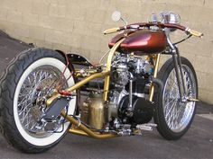 XS650 bobber. I like the skill that went into it. Though the seat is way too low, bad lines and no air filters. I build a bike to ride.