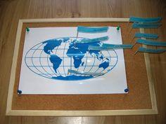 Wczesna Edukacja Antka i Kuby : Oceany i morza część I / Oceans and Seas - part I