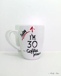 Geburtstag Geschenk Tasse edle Tasse mit Spruch von Lovely-Cups via dawanda.com