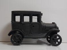 """Antique Cast Iron Truck. 6""""W x 4""""h."""