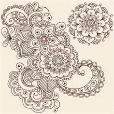 Mandala Mehndi Henna Tattoo Disenos De Tatuajes Mandalas Cuerpo Y