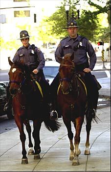 Mounted Police in Portland, Oregon.I want to go see this place one day.Please check out my website thanks. www.photopix.co.nz