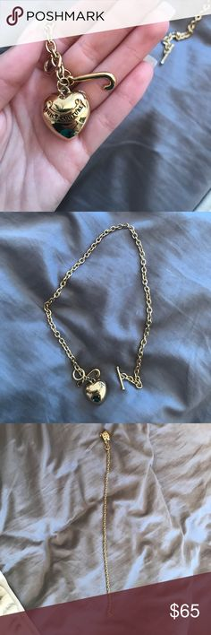 juicy couture charm necklace 100% authentic juicy couture charm necklace. perfect condition. never worn Juicy Couture Jewelry Necklaces