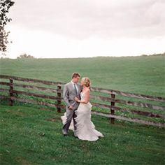 This Southern wedding is the stuff that dreams are made of, and proof that rain can be lovely!