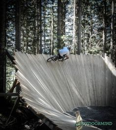 Bikepark Wagrain - OUTDOORMIND.DE - OUTDOORMIND.DE Freeride Mountain Bike, Mountain Bike Trails, Bmx Bikes, Road Bikes, Skateboard Ramps, Bmx Dirt, Mtb Trails, Bike Quotes, Bike Photo