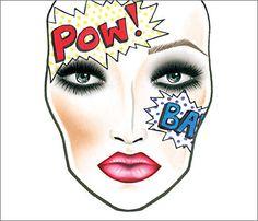 Addicted To Lipstick: Mac Halloween Face Charts