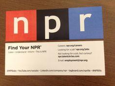 NPR Recruitment Example