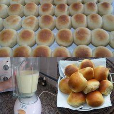 Depois que aprendi a fazer esse pãozinho de liquidificador eu nunca mais voltei à padaria. É simplesmente DIVINO, rápido, prático e muito fácil. A família toda adora!