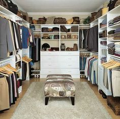 Decorate And Organize Your Walk In Closet