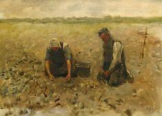 Anton Mauve - In the fields