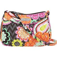 Vera Bradley Little Crossbody Handbag (Ziggy Zinnia)