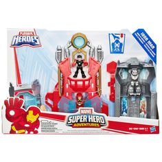 #Christmas Purchase Playskool Heroes Marvel Super Hero Adventures Iron Man Armor-Up Fortress by Hasbro, Multicolor for Christmas Gifts Idea . How many periods have you ever been paid to great lengths for getting your kids this scorching completely new Christmas Toys. When you allow your chosen Christmas Toys to your little one, don't just...