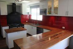 Jarrah kitchen worktop