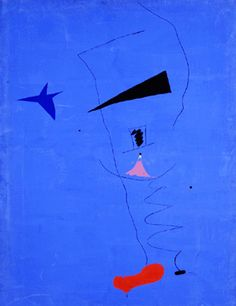 Painting (Blue Star) (French: Peinture (Etoile Bleue)) is a 1927 painting by the Catalan artist Joan Miró. Spanish Painters, Spanish Artists, Mark Rothko, Most Famous Paintings, Famous Artists, Famous Abstract Artists, Joan Miro Pinturas, Jean Miro, Joan Miro Paintings