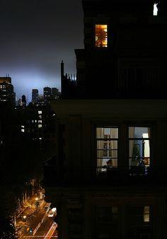 Manhattan at night Night Window, Window View, Night Aesthetic, City Aesthetic, Nocturne, Night Photography, Street Photography, Through The Window, Night City
