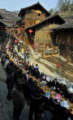 ✯ Long Street Banquet ..China..✯